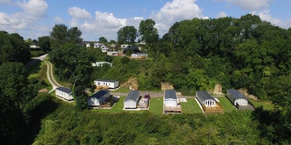 Dunscombe Manor Caravan Park of Sidmouth Devon_5